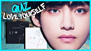 "BTS GAME | Test Your ""Love Yourself"" Knowledge"