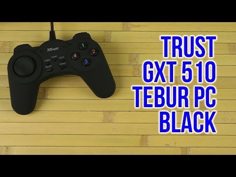 Распаковка Trust GXT 510 Tebur PC Black 21834