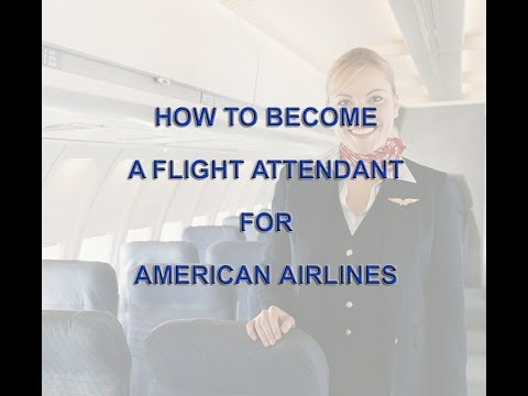 How To Become A Flight Attendant For American Airlines