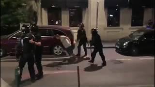 Jandarm filmat cum rupe in bataie un civil !