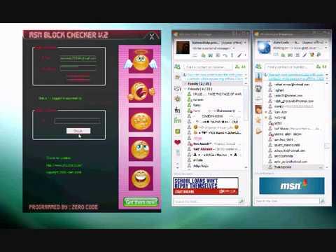 MSN Block Checker V.2
