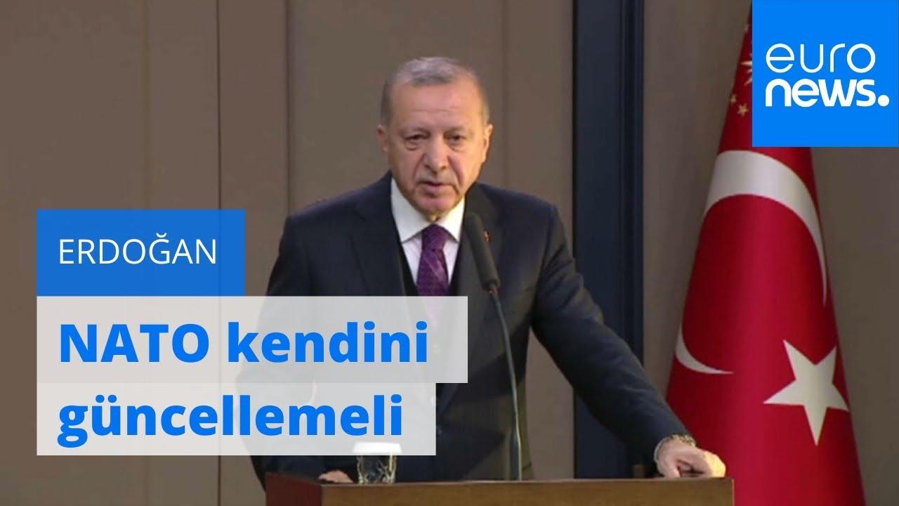 Cumhurbaşkanı Erdoğan: NATO kendini güncellemeli