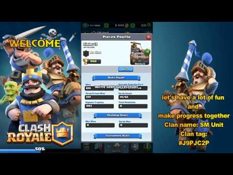 Clash Royale Ep 13 How to invite new players in your clan D