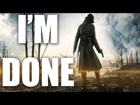 BF1 SUCKS - Battlefield 1 Is Losing Players For Good Reason - (BF1 RANT)