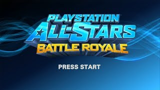 PlayStation All-Stars Battle Royale (PlayStation 3)【Longplay】