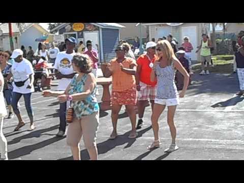 Jo dances in Freeport