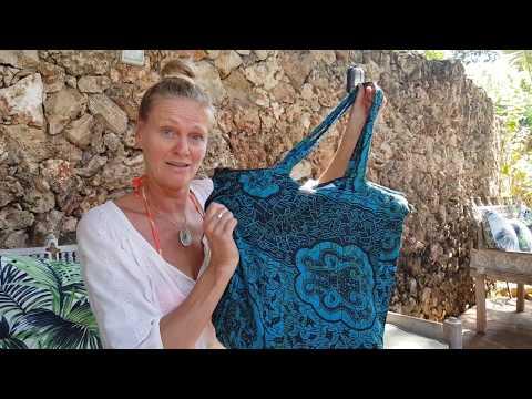 ZusenZomer Strandtas  - More-Africa - Fair Trade