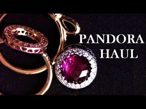 bd61eef08 Pandora Rose Rings and New Charm for My Pandora Charm Bracelet Haul ...