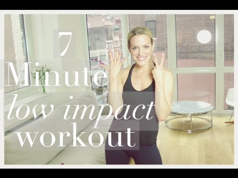 7 minute low impact cardio workout busy babe workout youtube. Black Bedroom Furniture Sets. Home Design Ideas