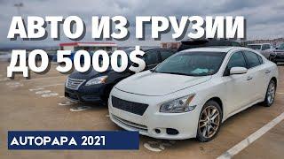Дешевые авто из Грузии до 5000 $. Цены Autopapa.