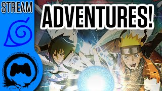 Naruto Ultimate Ninja Storm 4 - ADVENTURE MODE! - Stream Four Star