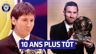 VIDEO: Quand Lionel Messi recevait son PREMIER Ballon d'OR