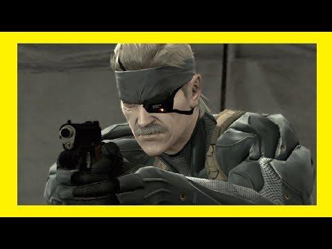 Metal Gear Solid 4 Guns Of The Patriots Le Film Complet En Francais Filmgame 1 5
