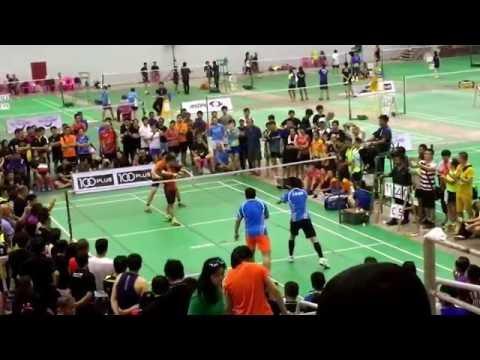 Sawasdee Cup 2016 - Lai Zing Neng/ Yustian vs Cai Yun/Qiu Zhi Han