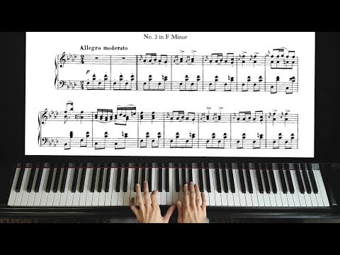 Schubert: Moment Musical ( Musicaux ) Op. 94 No. 3 - Piano Tutorial