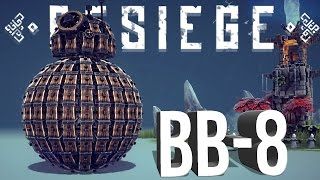 Besiege Best Creations - Star Wars BB-8 , VTOL Transformer, Fastest Walker & More!