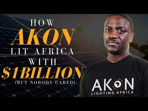 How Akon Lit Africa With $1billion (But Nobody Cared)
