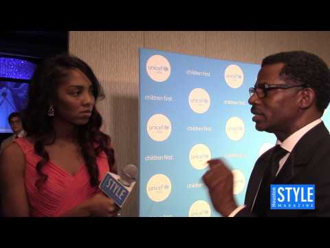 Nelson Bowman III @ the 4th Annual UNICEF Audrey Hepburn Society Ball - VIDEO