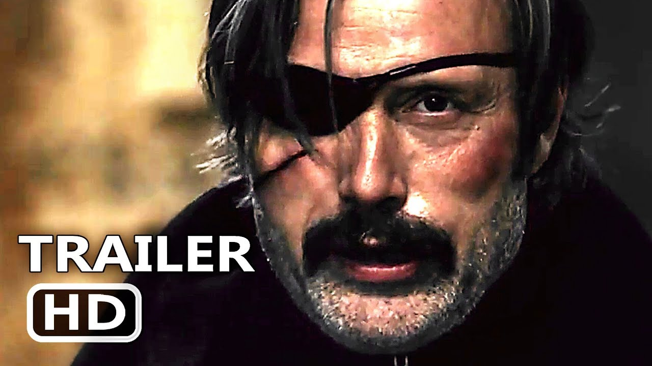 Movie Poster 2019: POLAR Official Trailer (2019) Mads Mikkelsen, Vanessa