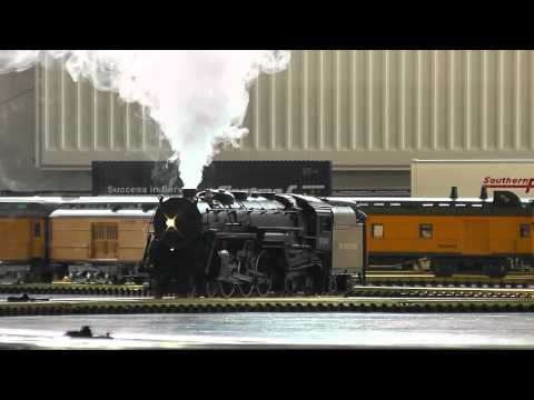 Modelling Railway Train Scenery -Creating The Most From Your Indoor g scale Hudson smoking like real! MUST SEE!!!