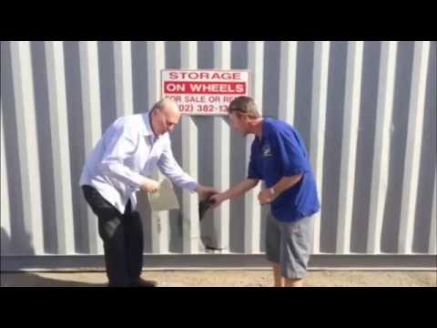 How to fix a hole in a Cargo Container-Quick Patch
