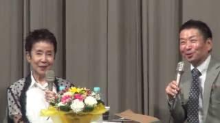 女優の奈良岡朋子さんが語る平和・戦争・ヒロシマ・映画@新藤兼人平和映画祭 2016 08 06