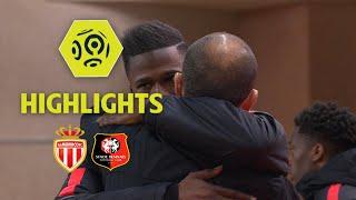 AS Monaco - Stade Rennais FC (2-1) - Highlights - (ASM - SRFC) / 2017-18
