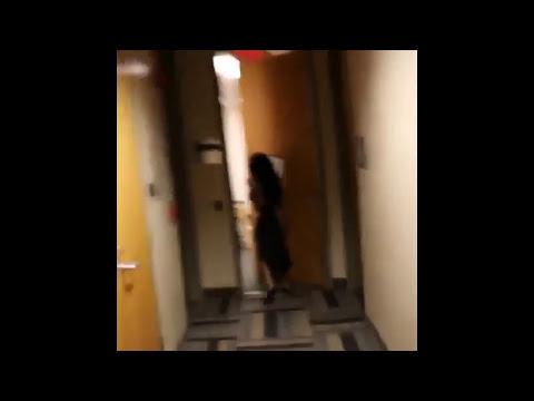 K Michelle Runs Around Naked In Hallway