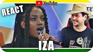 Baixar IZA Canta Pesadão Rihanna Sia Lauryn Hill Reagindo React Reação Marcio Guerra Canto