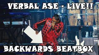 Verbal Ase Live at NAMM - Backwards Beatbox