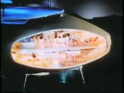 '64-65 NY World's Fair FUTURAMA Ride Video