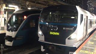 【さふぃーる おどりこ、しょうなん】E261系 特急 サフィール踊り子、E257系 特急 湘南(回送)@東京駅