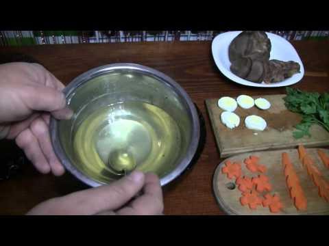 Заливное из языка рецепт с фото