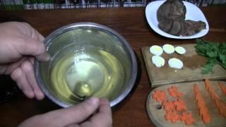 Как приготовить заливное с говяжьего языка (Наша кухня)(Как приготовить заливное с прозрачным бульоном смотрите в этом видео., 2015-12-30T19:32:26.000Z)