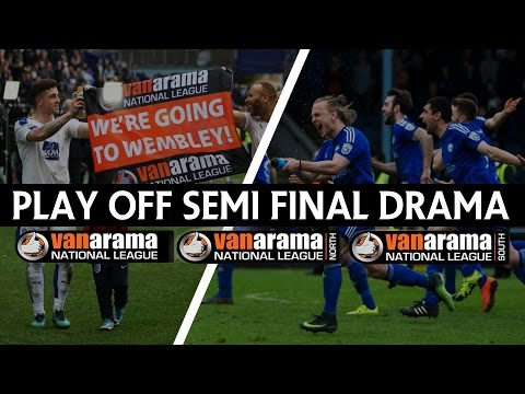 Play Off Semi Finals | 3rd - 7th May 2017 | Non League News Flash