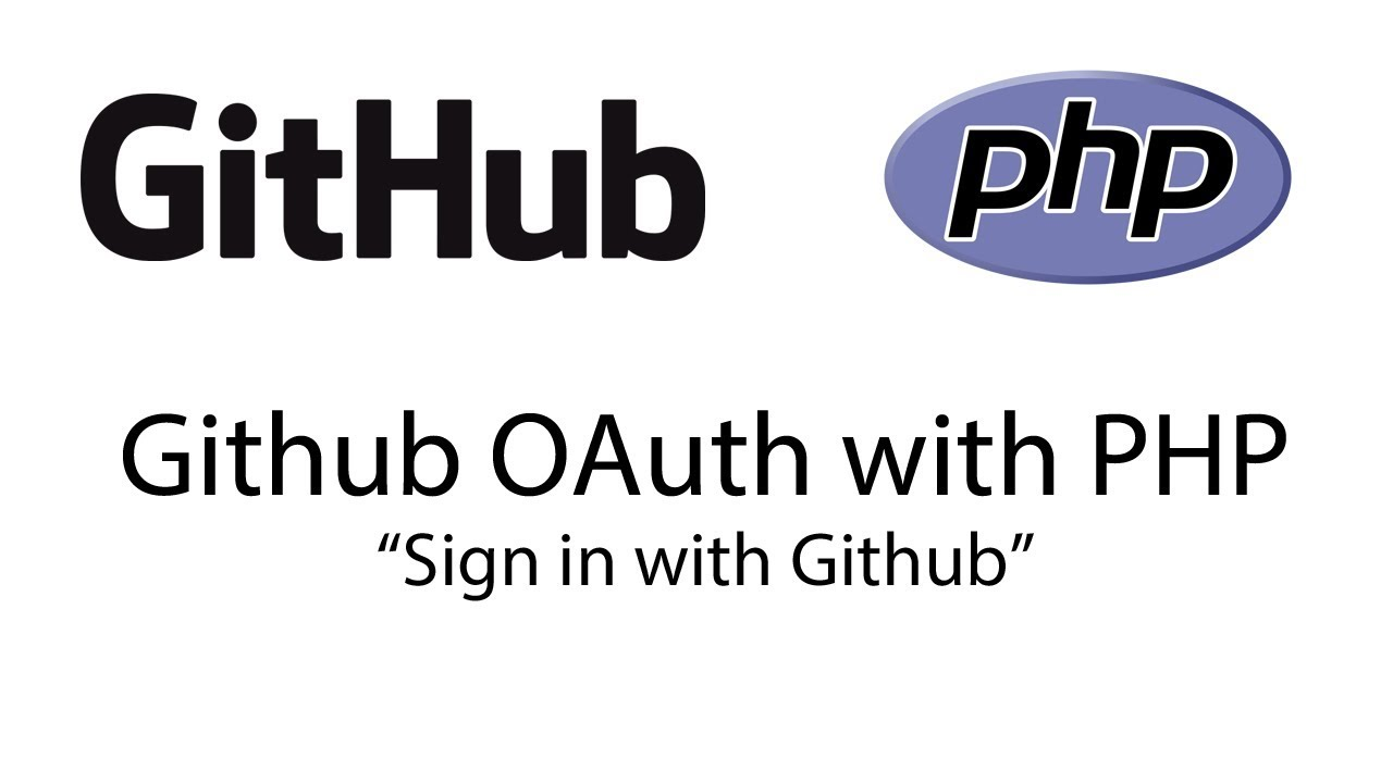 Github OAuth using PHP (Sign in with Github) by Keith, the Coder