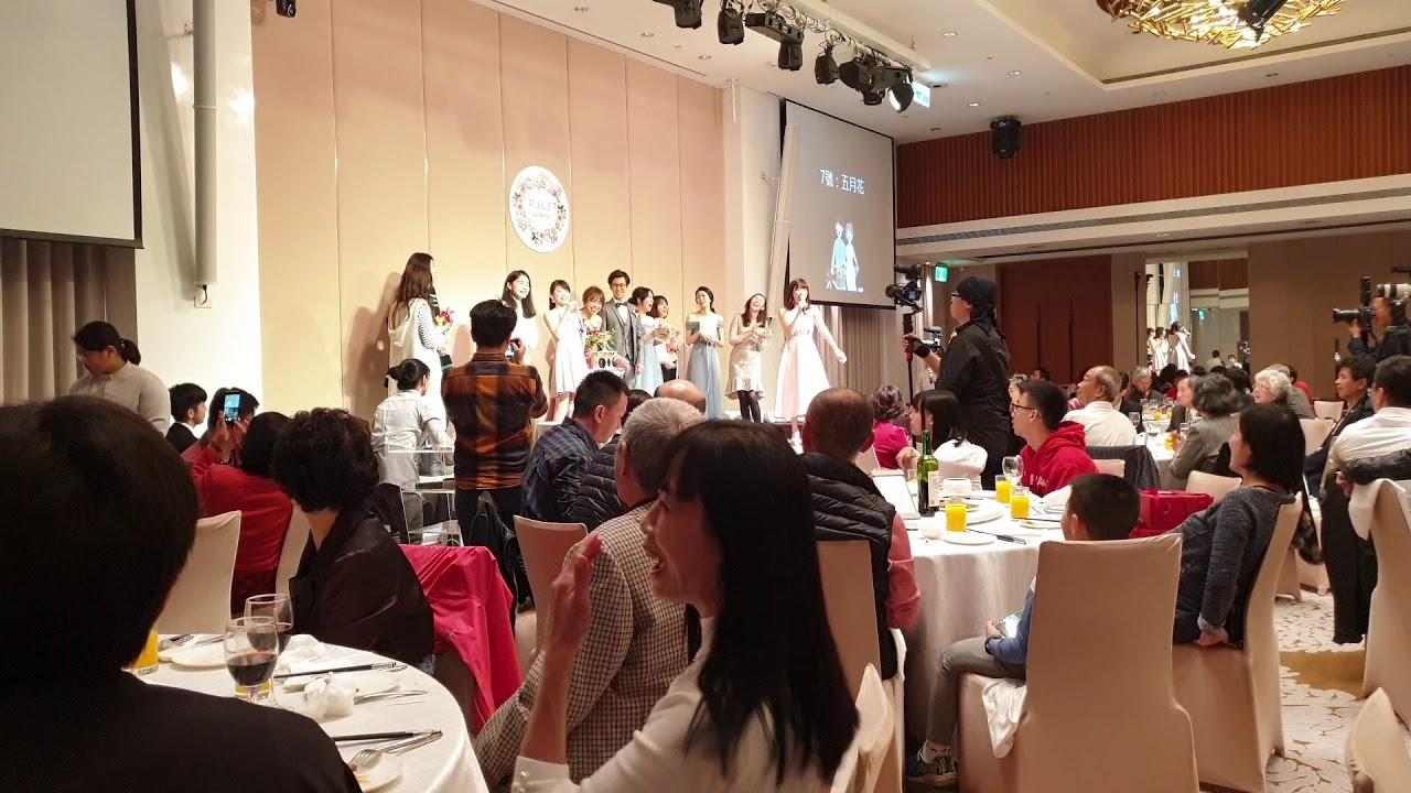 中英文主持人Tiffany 【炒氣氛專用:創意版抽捧花活動】 - YouTube