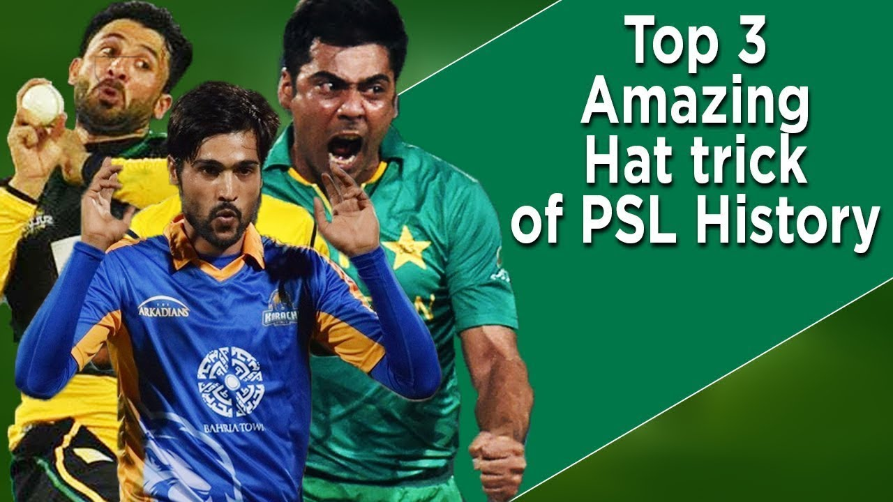 Top 3 Amazing Hat tricks of PSL History | PSL