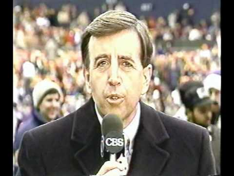 Jimmy The Greek Firing 1988 - Brent Musburger Commentary - THE NFL TODAY