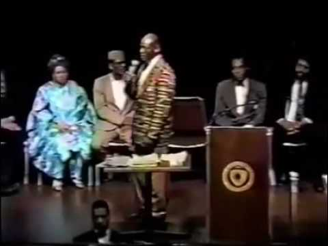 Dr. Khalid Muhammad speaks on Kemet and African scholars to study