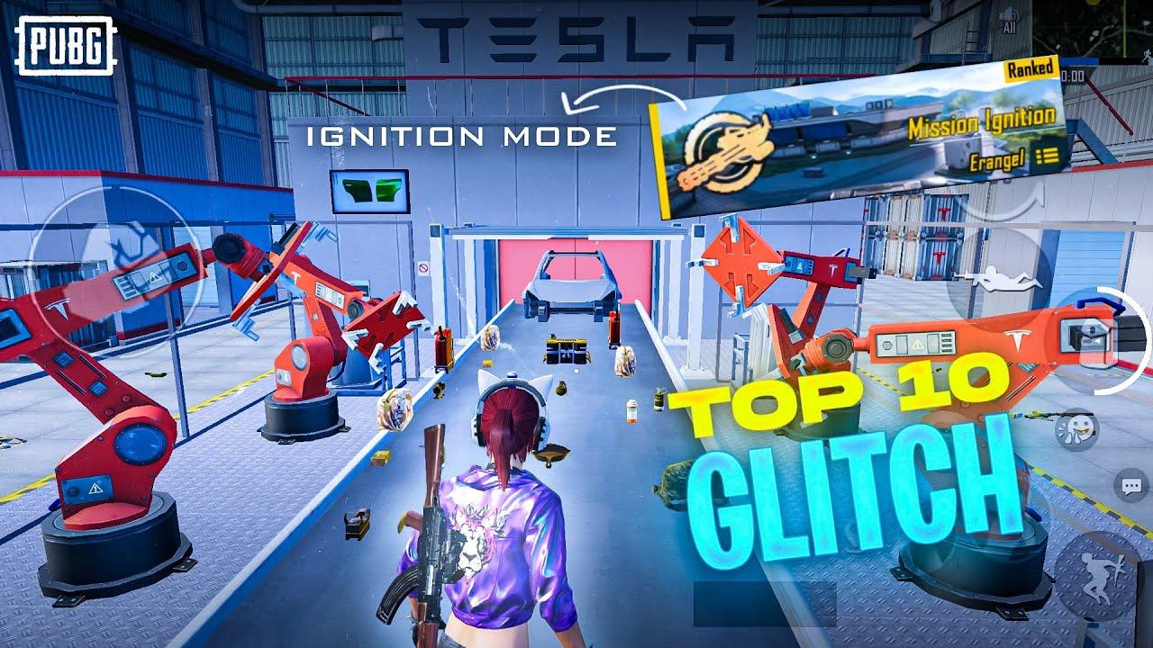 Download Top 10 Glitch And Tricks Pubg Mobile/Bgmi |Mission Ignition Mode