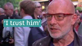 Brian Eno on Jeremy Corbyn: