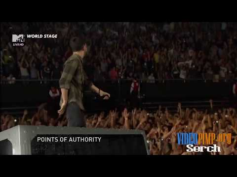 Linkin Park - Points Of Authority MTV World Stage HD (Monterrey 2012)