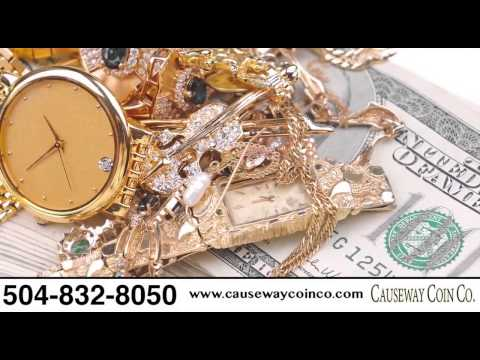 Causeway Coin | Buy/Sell Gold, Rare Gold/Silver Coins, Vintage Watches & Flatware in New Orleans, LA