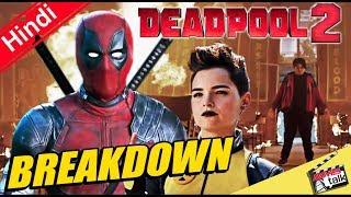 Deadpool 2 Teaser Trailer Breakdown - Easter Eggs and References [Explain In Hindi]