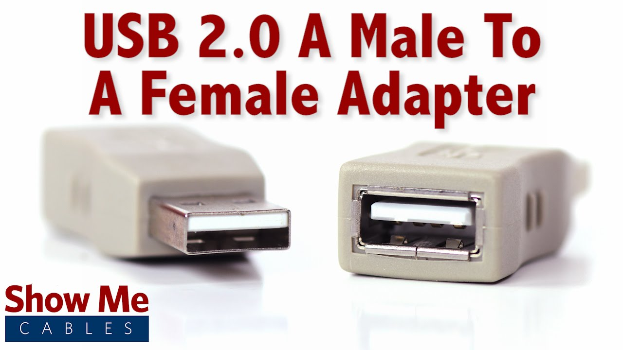 Easy to use usb 2 0 a male to a female adapter the - Can a usb 3 0 be used in a 2 0 port ...