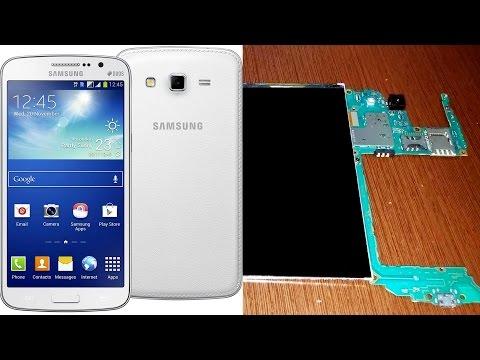 Разборка Samsung Galaxy Grand 2 G7102: замена корпуса и сенсорного экрана, тачскрина (touch screen)