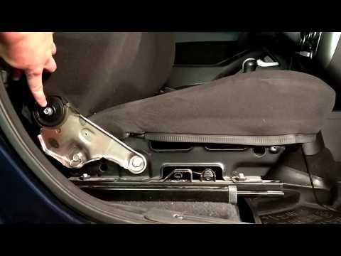 Как опустить спинку переднего сиденья ВАЗ ( Лада Калина)