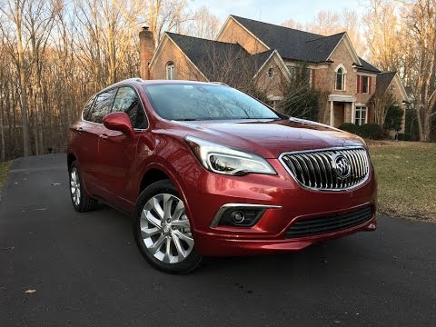 2017 Buick Envision 2.0T – Redline: Review