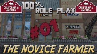 Farming simulator 15  The Novice Farmer  100% Rôle Play  Episode 1  Multi